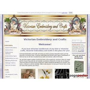 Art needlework 1895 comparison