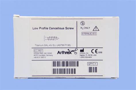 Arthrex Low Profile Cancellous Screw Ar-8840-14s