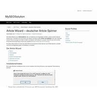 Article wizard deutscher article spinner scam