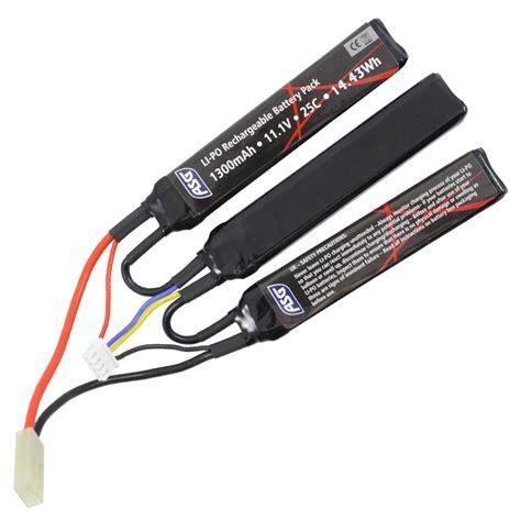 ASG 11 1V LI-PO Battery 1300 MAh 3 Stick - Powair6 Com