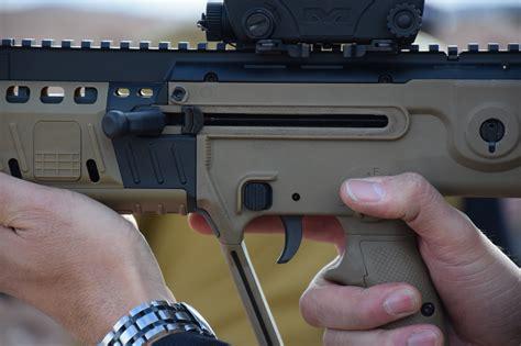 Assault Rifle Clip Behind Trigger
