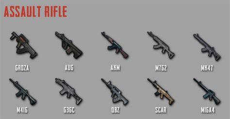 Assault Rifle Guide Pubg