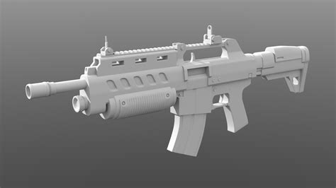 Assault Rifle In Games
