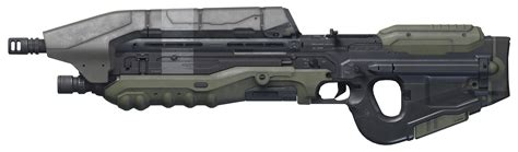 Assault Rifle Png Halo