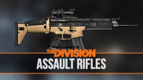 Assault Rifle The Divison