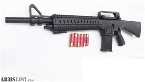 Assault Style 12 Gauge Shotgun