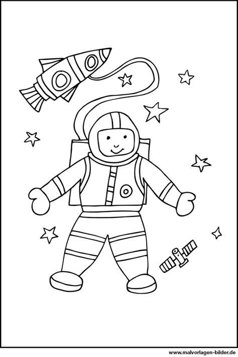 Astronaut Malvorlage