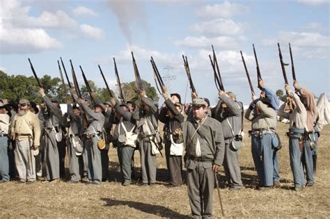 At Bennett Place Do They Shoot Rifles In Reenactments
