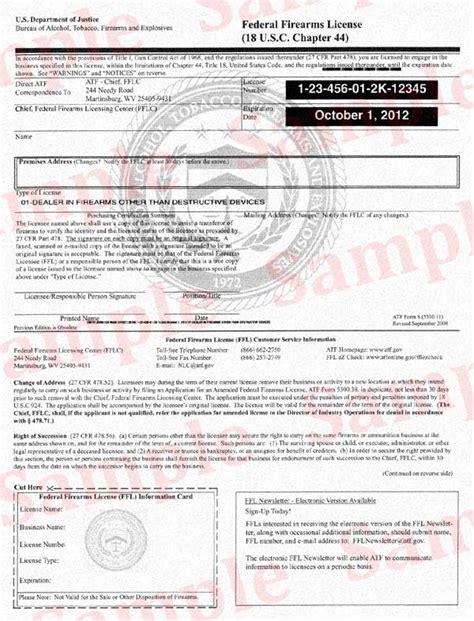 atf gun license