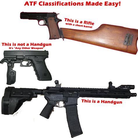 Atf Definition Of A Handgun