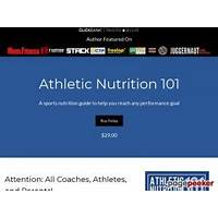 Athletic nutrition 101 does it work?