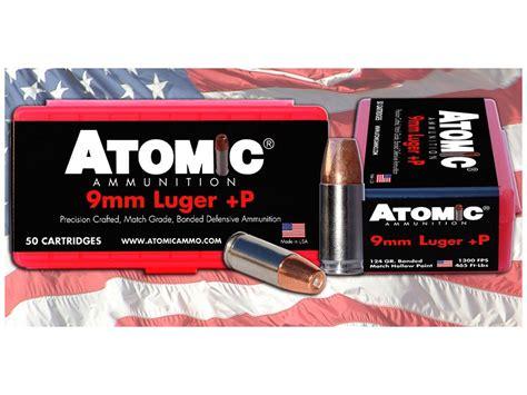 Atomic 9mm Ammo