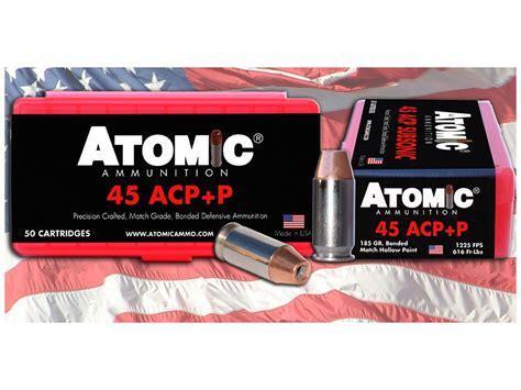 Atomic Ammo 45 Acp