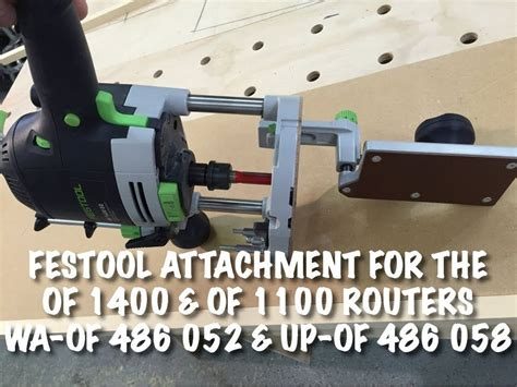 Attachment for the of 1400 of 1010 routers from festool Image