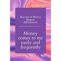 Attract wealth with the law of money magnetism audio program & ebook instruction