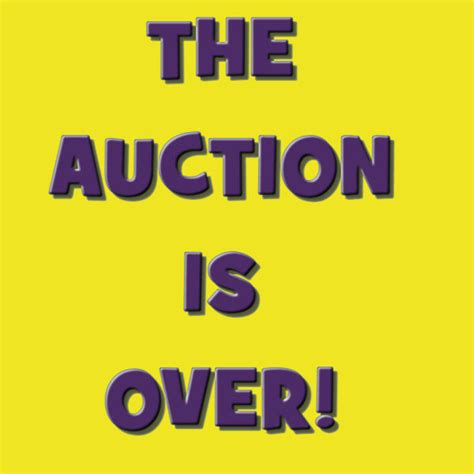 AUCTION IS OVER - Schraderauction Com