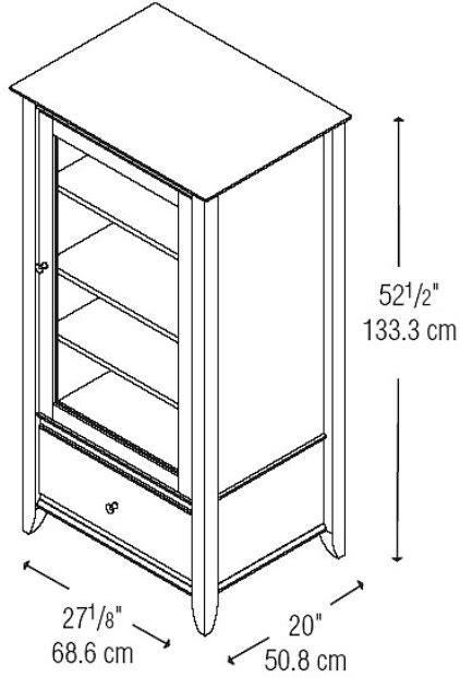 Audio cabinet plans free Image