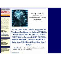 Audio mind control secret code