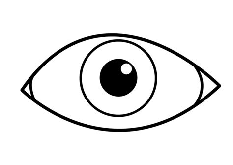 Auge Malvorlage