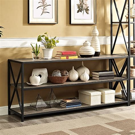 Augustus Media Etagere Bookcase