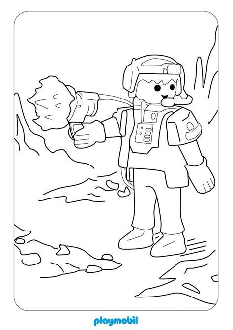Ausmalbild Playmobil Agenten