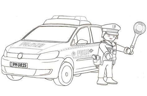 Ausmalbild Playmobil Auto