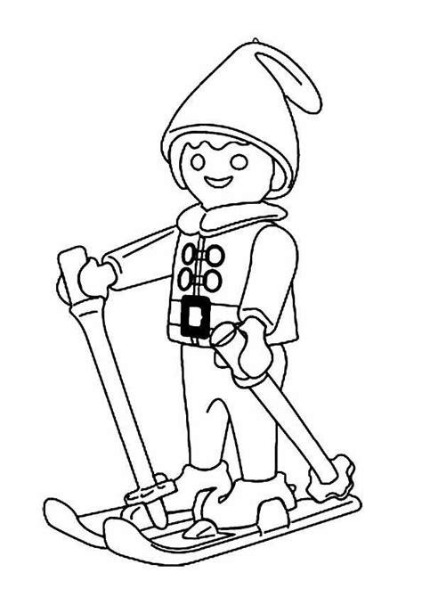 Ausmalbild Playmobil Weihnachten
