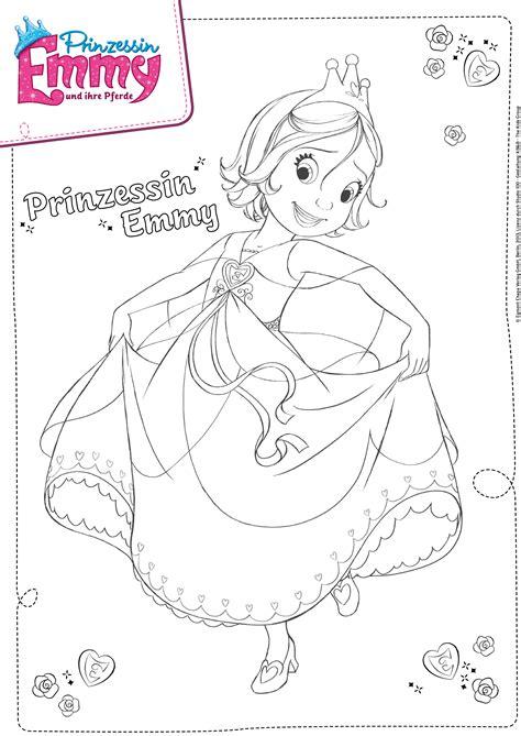 Ausmalbild Prinzessin Emmy