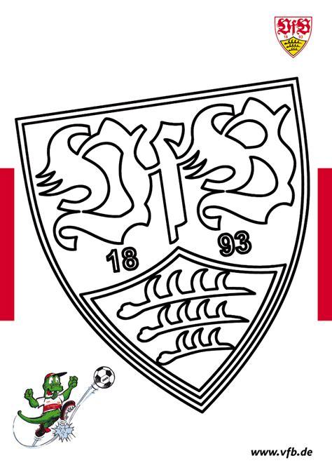 Ausmalbild Vfb Logo