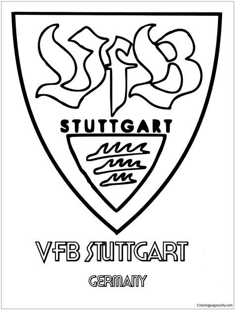 Ausmalbild Vfb Stuttgart