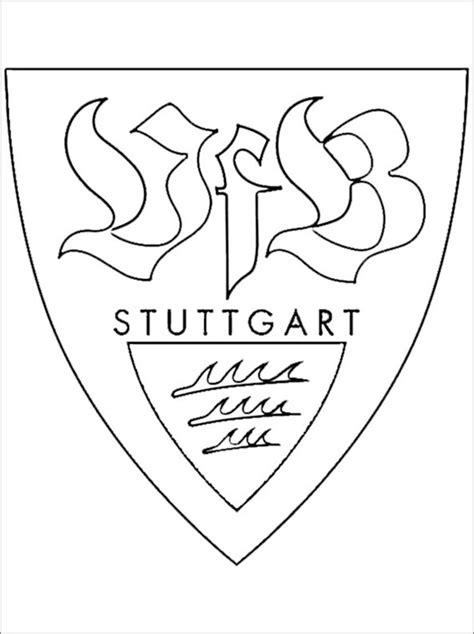 Ausmalbild Vfb Wappen