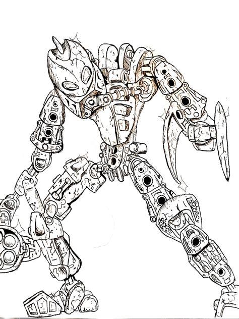 Ausmalbilder Bionicle Malvorlagen