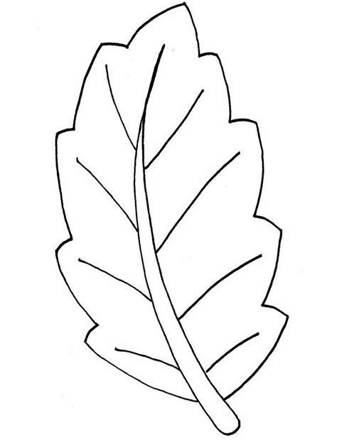 Ausmalbilder Blätter Kostenlos