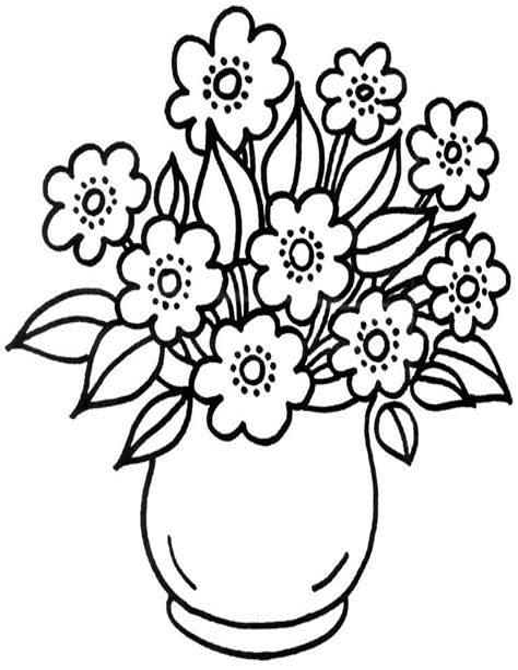 Ausmalbilder Blumen Pdf