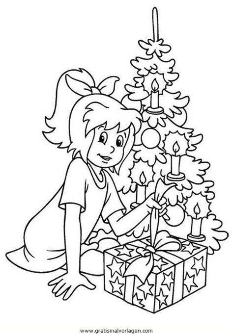 Ausmalbilder Conni Weihnachten