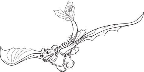 Ausmalbilder Dragons Ohnezahn