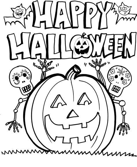 Ausmalbilder Drucken Halloween