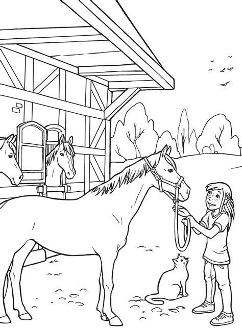 Ausmalbilder Drucken Pferd