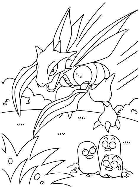 Ausmalbilder Drucken Pokemon