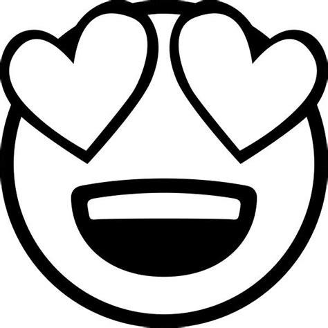 Ausmalbilder Emoji Herz