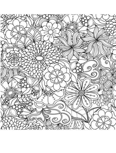 Ausmalbilder Erwachsene Blumen Pdf