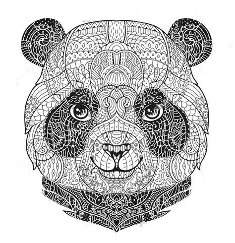 Ausmalbilder Erwachsene Panda
