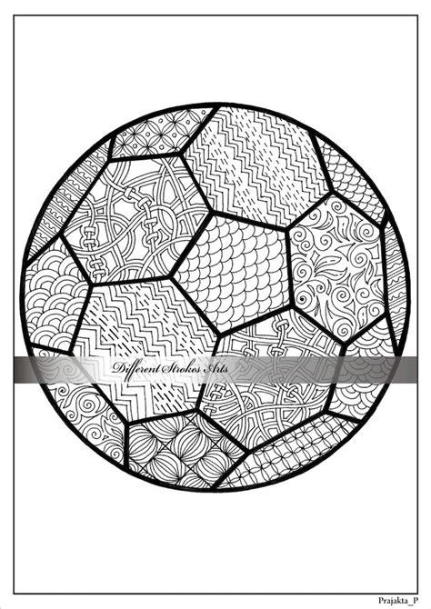 Ausmalbilder Für Erwachsene Fußball