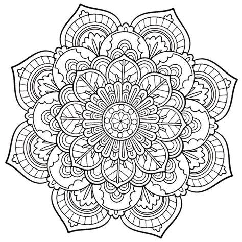 Ausmalbilder Für Erwachsene Mandala