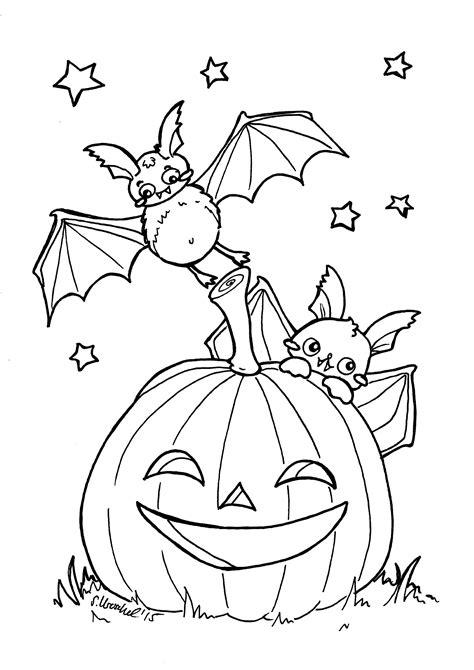 Ausmalbilder Für Kinder Halloween