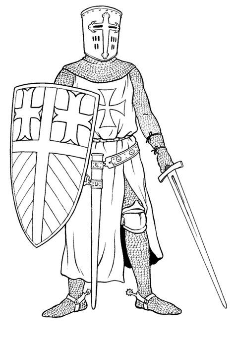 Ausmalbilder Für Ritter