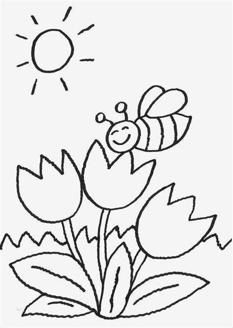 Ausmalbilder Frühling Kindergarten