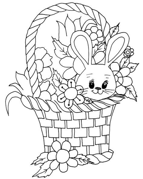 Ausmalbilder Frühling Ostern