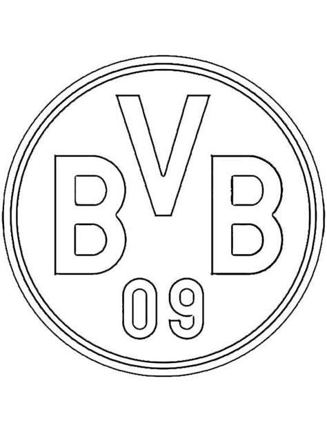 Ausmalbilder Fußball Dortmund