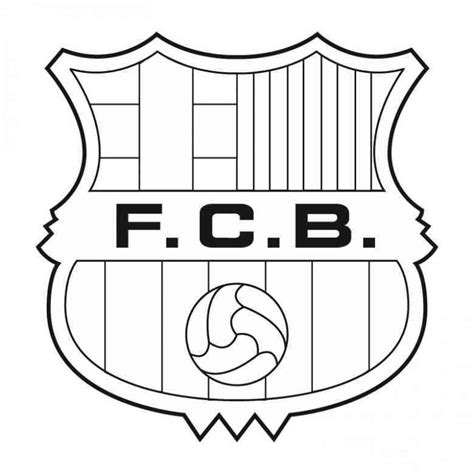 Ausmalbilder Fußball Fc Barcelona